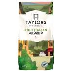Taylors of Harrogate Rich Italian Ground Roast Coffee 227g
