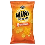 Jacob's Mini Cheddars Original Multipack Snacks 6x25g