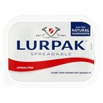 Lurpak Unsalted Spreadable Blend of Butter and Rapeseed Oil 500g