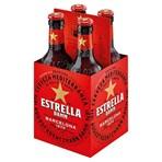 Estrella Damm Premium Lager Beer 4 x 330ml