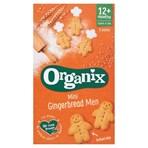 Organix Mini Gingerbread Men 5 x 25g (125g)