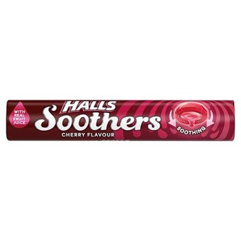 Halls Soothers Cherry Flavour 45g