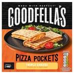 Goodfella's Pizza Pockets Triple Cheese 250g