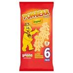 Pom-Bear Original Multipack Crisps 6 Pack
