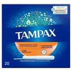 Tampax Super Plus Tampons With Cardboard Applicator X 20