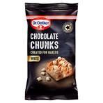 Dr. Oetker White Chocolate Chunks 100g