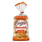 Warburtons 5 Sesame Soft & Sliced Bagels