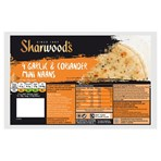 Sharwood's 4 Garlic & Coriander Mini Naans