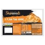 Sharwood's 4 Plain Mini Naans
