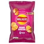 Walkers Prawn Cocktail Multipack Crisps 6 x 25g