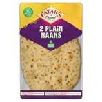 Patak's Plain Naan Breads x 2