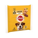 Pedigree Adult Wet Dog Food Pouches Chicken in Jelly 3 x 100g