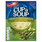 Batchelors Cup a Soup Cream of Asparagus with Croutons 4 Sachets 117g