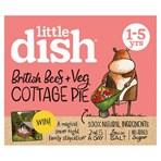 Little Dish British Beef + Veg Cottage Pie 1-5 yrs 200g