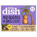 Little Dish Mild Korma with Rice & British Chicken 1-5 yrs 200g