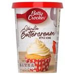 Betty Crocker Vanilla Buttercream Style Icing 400g
