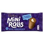 Cadbury Milk Chocolate Mini Rolls Cakes x5
