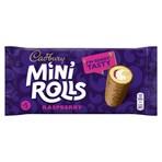 Cadbury Raspberry Mini Rolls Cakes x5