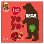 BEAR Yoyos Strawberry 5 x 20g