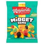Maynards Bassetts Midget Gems Sweets Bag 160g