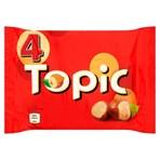 Topic Chocolate Bars Multipack 4 x 47g