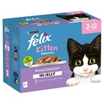 FELIX Kitten Mixed Selection in Jelly Wet Cat Food 12 x 100g