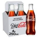 Diet Coke 4 x 250ml