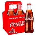 Coca-Cola Original Taste 4 x 250ml