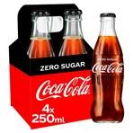 Coca-Cola Zero Sugar 4 x 250ml