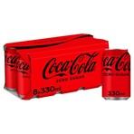 Coca-Cola Zero Sugar 8 x 330ml