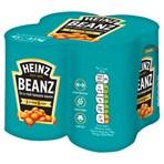 Heinz Beanz in a Rich Tomato Sauce 4 x 415g