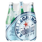 San Pellegrino Sparkling Natural Mineral Water 6 x 1L