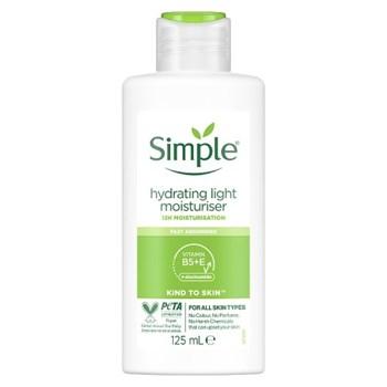 Simple Hydrating Light Moisturiser 125 ml