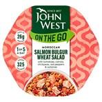 John West On The Go Moroccan Salmon Bulgur Wheat Salad 220g