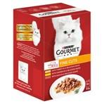 Gourmet Mon Petit Fine Cuts Cat Food Pouches Poultry 6 x 50g (300g)