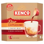 Kenco Duo Cappuccino Instant Coffee x6