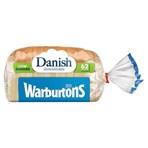 Warburtons Danish Lighter White Bread 400g