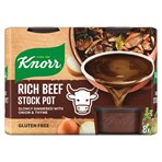 Knorr Rich Beef Stock Pot 8 x 28 g