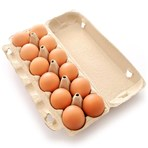 Free Range 12 Eggs (Medium) Dozen