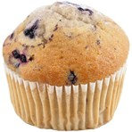 Blueberry Muffins  Retailer's Own Brand 4 Pack