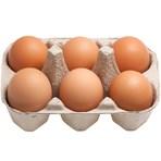 Free Range 6 Eggs (Medium) Half Dozen