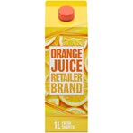 Fresh Orange Juice Smooth 1 litre