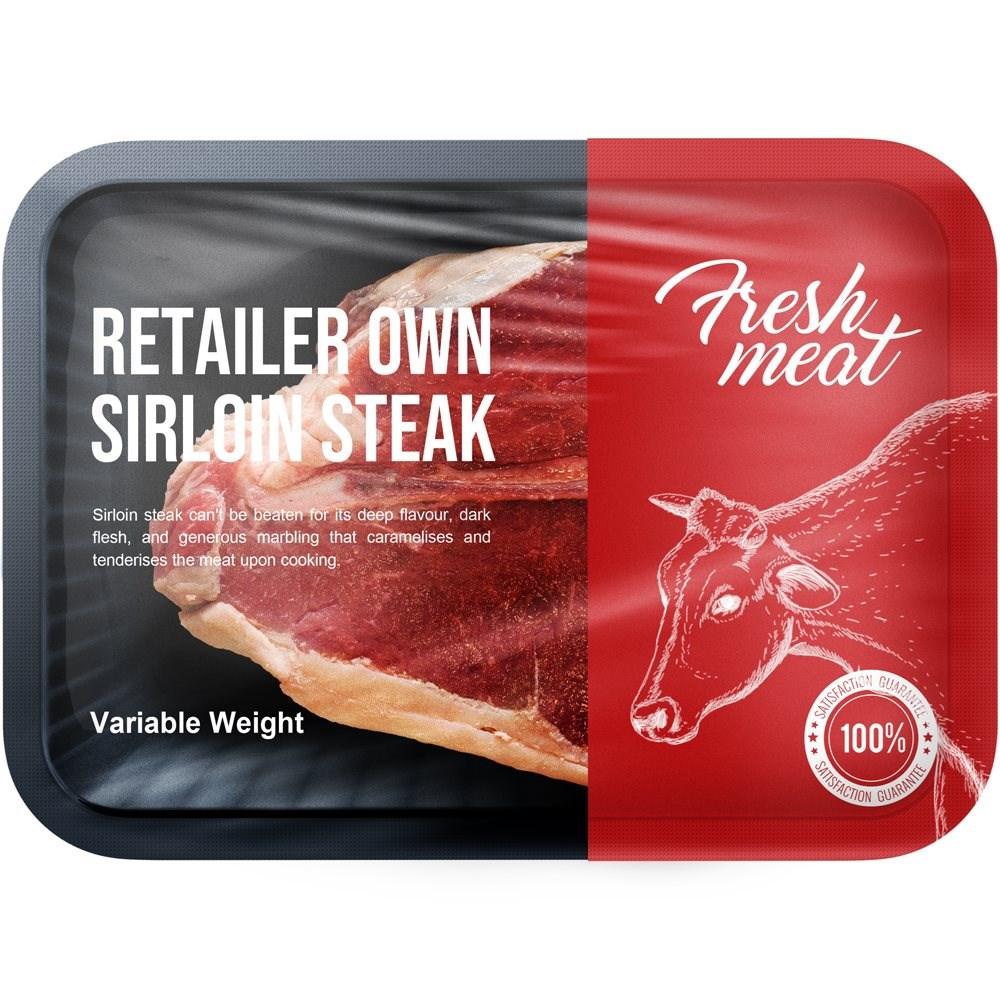 Sirloin Steak  Retailer's Own Brand 225g
