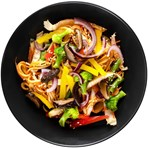 Vegetable Chow Mein for 1 Retailer's Own Brand Variable